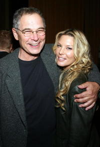 Richard Pagano and Deborah Kara Unger at the after party of the word premiere of