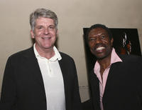 John Lyons and director Vonde Curtis-Hall at the after party of the premiere of