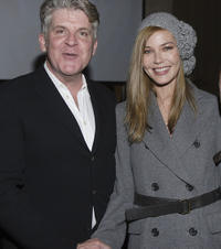 John Lyons and Connie Nielsen at the after party of the premiere of