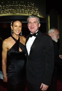 Kelly Lynch and John Lyons at the 61st Annual Golden Globe Awards.
