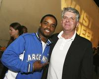 Larenz Tate and John Lyons at the after party of the premiere of