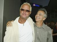 David R. Ellis and Russell Schwartz at the premiere of