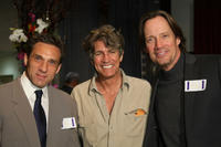 Gary Daniels, Eric Roberts and Kevin Sorba at the premiere of