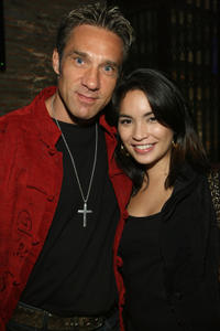 Gary Daniels and Krystal Vee at the Director's party during the fifth day of the Bangkok International Film Festival 2009.