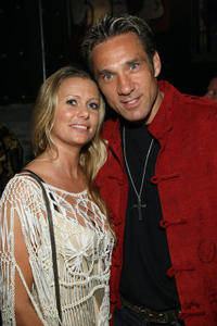 Charlotte Dodson and Gary Daniels at the Director's party during the fifth day of the Bangkok International Film Festival 2009.