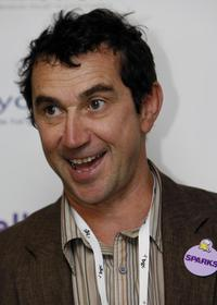 Phil Daniels at a photo session at the offices of BGC partners in Canary Wharf.