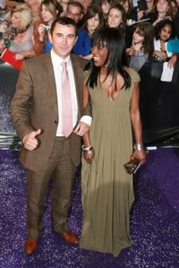 Phil Daniels and Diane Parish at the British Soap Awards 2007.