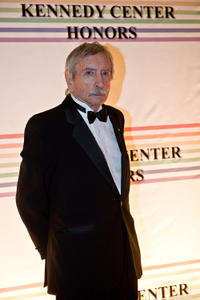 Edward Albee at the red carpet of the Kennedy Center Honors gala performance in Washington.