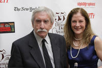 Edward Albee and Guest at the 55th Annual Drama Desk Awards in New York.