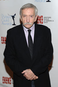 Edward Albee at the 62nd Annual Writers Guild Awards in New York.