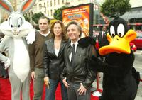 Joe Dante, Bernie Goldmann and Paula Weinstein the world premiere of