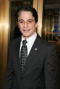 Tony Danza at the Vincent Sardi Jr memorial service.