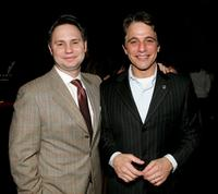 Tony Danza and Jason Binn at the album release celebration of