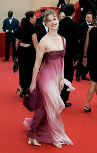 Florence Darel at the premiere of