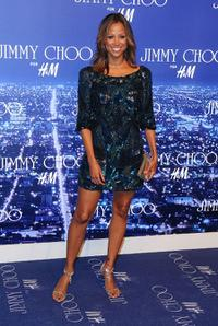 Stacey Dash at the Jimmy Choo for H&M Collection private event.