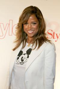 Stacey Dash at the Life & Style Magazine's Stylemakers 2005, a runway show and charity auction.