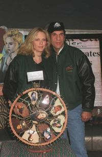 Robert Davi and Ally Walker donate serial killer Jack's wheel from the NBC show