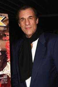 Robert Davi at the Ciak magazine party of the 2nd Rome Film Festival.
