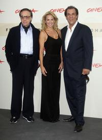 Robert Davi, Eloise DeJoria and Peter Bogdanovich at the premiere for