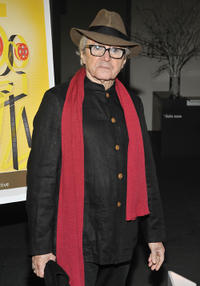 Gato Barbieri at the opening night reception of