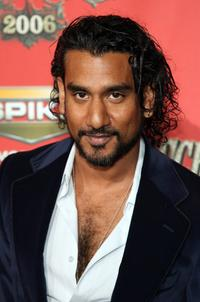 Naveen Andrews at the Scream Awards 2006.
