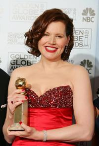Geena Davis at the 63rd Annual Golden Globe Awards.