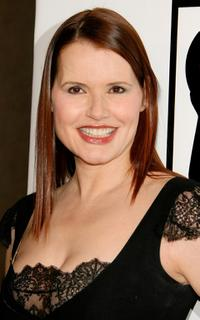 Geena Davis at The Billies presented by The Women's Sports Foundation.