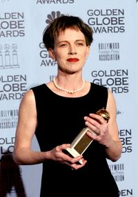 Judy Davis at the 59th Annual Golden Globe Awards.