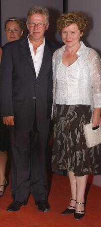 Philip Davis and Imelda Staunton at the premiere of