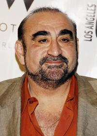Ken Davitian at the LA Confidential Magazine's Pre-Golden Globe party honoring Penelope Cruz.