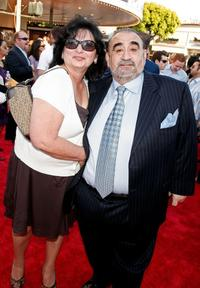 Ken Davitian and guest at the premiere of