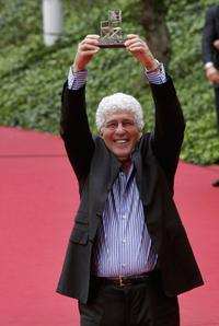 Ninetto Davoli at the Rome Film Festival.