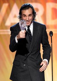 Daniel Day-Lewis at the 13th Annual Critics' Choice Awards.