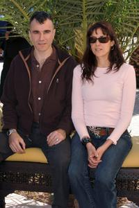 Daniel Day-Lewis & Rebecca Miller at the Marrakesh International Film Festival 2005.