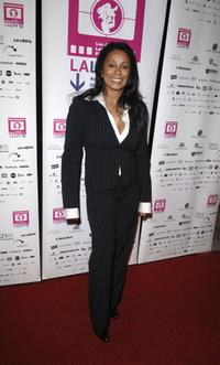 Wanda De Jesus at the Los Angeles Latin International Film Festival (LALIFF) closing night gala.