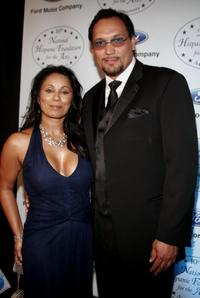 Jimmy Smits and Wanda De Jesus at the National Hispanic Foundation of the Arts 10th Anniversary Celebration.
