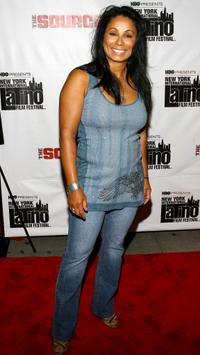 Wanda De Jesus at the premiere of
