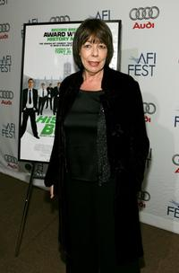 Frances de la Tour at the North American premiere of