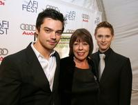 Dominic Cooper, Frances de la Tour and Samuel Anderson at the North American premiere of