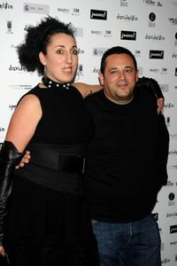 Rossy de Palma and Pepon Nieto at the David Delfin party.