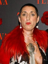 Rossy de Palma at the Telva Magazine Fashion Awards.