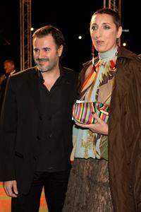 Javier Garcia and Rossy de Palma at the Marrakesh International Film Festival 2005.