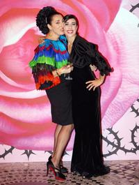 Rossy de Palma and Luz Casal at the Annual Rose Ball