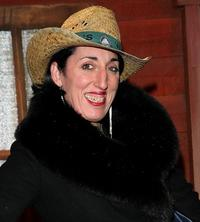 Rossy de Palma at the Buffalo Bill Wild West Show.