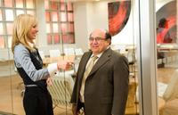 Kristen Bell and Danny DeVito in