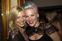 Amy Smart and Pink at the Lions Gate International AFM Cocktail Party.