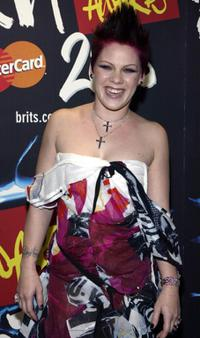Pink at the 2003 Brit Awards Show.