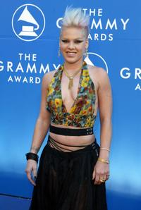 Pink at the 44th Grammy Awards 2002.