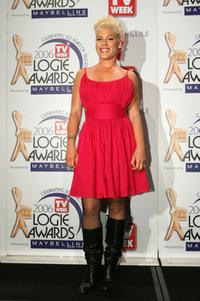 Pink at the 48th Annual TV Week Logie Awards.