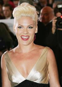 Pink at the 2006 TV Week Logie Awards.